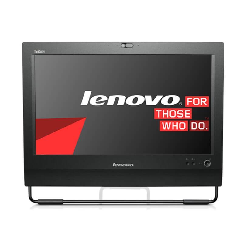 All-in-One second hand Lenovo ThinkCentre M71z, i5-2400S, 240GB SSD, Grad A-, Webcam