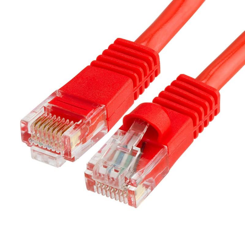 Cablu Retea 3m CAT6U/UTP, Rosu