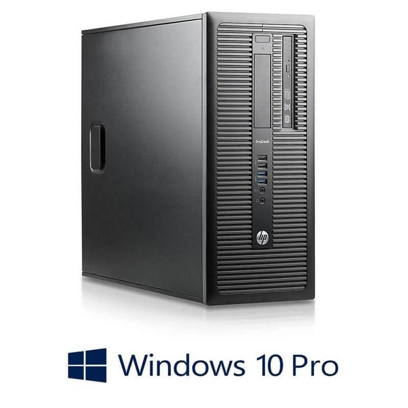 Calculatoare HP ProDesk 600 G1 MT, i5-4570 Gen 4, Win 10 Pro