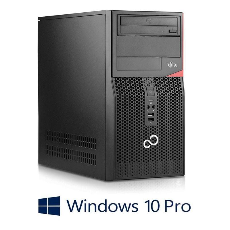 Calculator Fujitsu ESPRIMO P556, Quad Core i5-6400, 120GB SSD NOU, Win 10 Pro