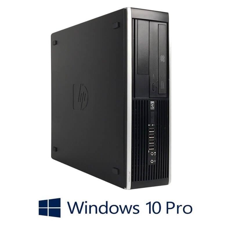 Calculator HP Compaq 8200 Elite SFF, Quad Core i7-2600, 240GB SSD, Win 10 Pro