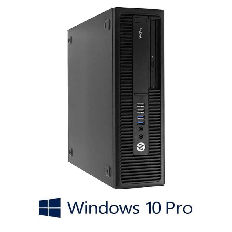 Calculator HP ProDesk 600 G2 SFF, Quad Core i5-6600, 120GB SSD NOU, Win 10 Pro