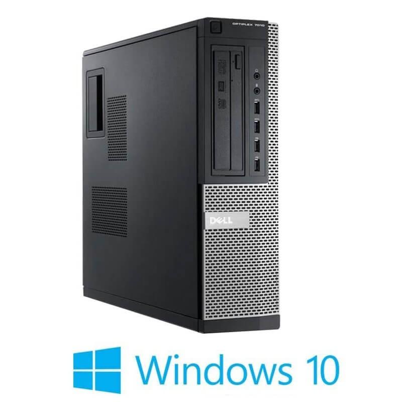 Calculator refurbished Dell OptiPlex 7010 DT, Quad Core i5-3470, Win 10 Home
