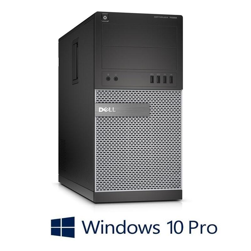 Calculator Dell Optiplex 7020 MT, Quad Core i7-4790K, 8GB, Win 10 Pro