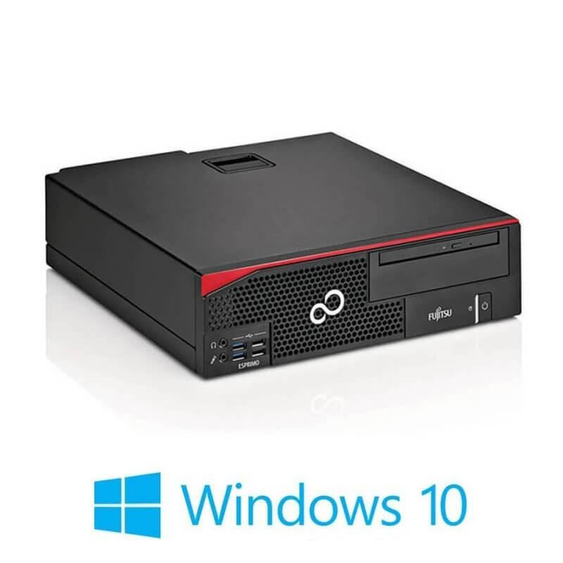 Calculator Fujitsu ESPRIMO D556, Quad Core i7-6700T, SSD, Win 10 Home