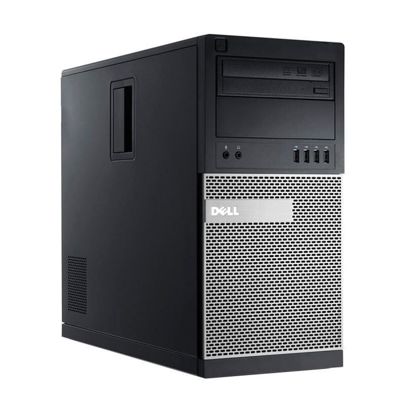 Calculator second hand Dell OptiPlex 790 MT, Intel Quad Core i5-2400, 120GB SSD NOU