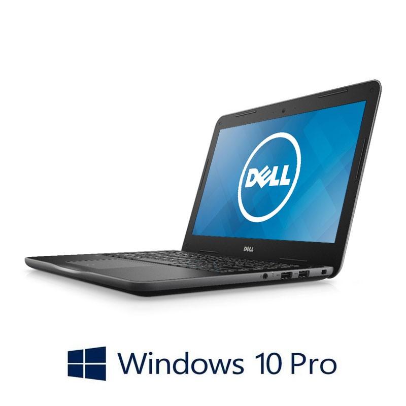 Laptop Dell Latitude 3380, Intel i3-6006U, 128GB SSD, 13.3 inci, Webcam, Win 10 Pro