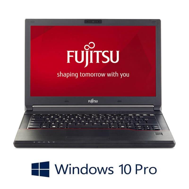 Laptop Refurbished Fujitsu LIFEBOOK E546, i3-6006U, SSD, Webcam, Win 10 Pro