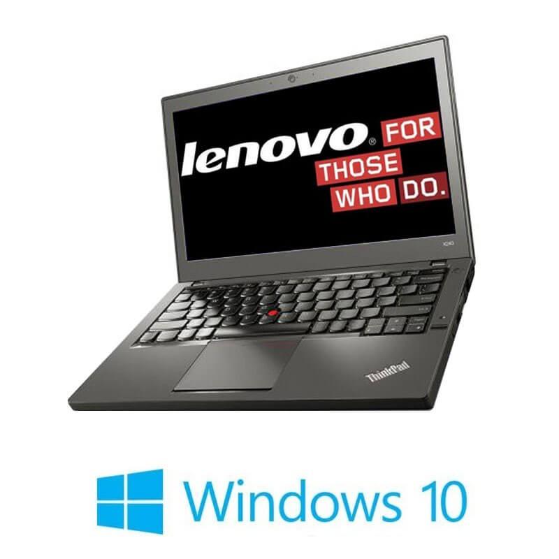 Laptop Refurbished Lenovo ThinkPad X260, i5-6200U, DDR4, Webcam, Win 10 Home