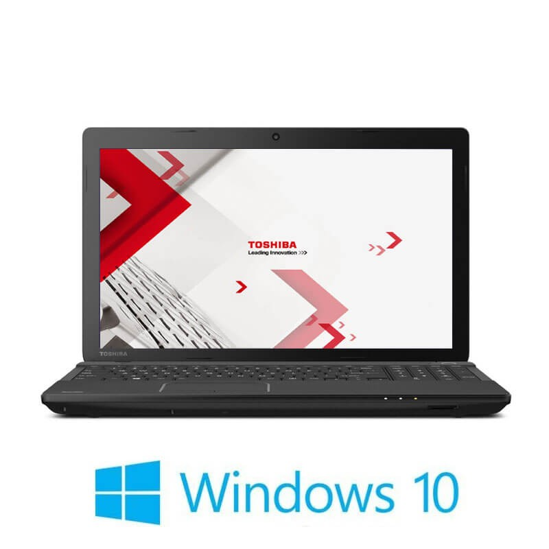 Laptop Toshiba Satellite Pro C50-A-1J1, i3-3110M, 15.6 inci, Webcam, Win 10 Home