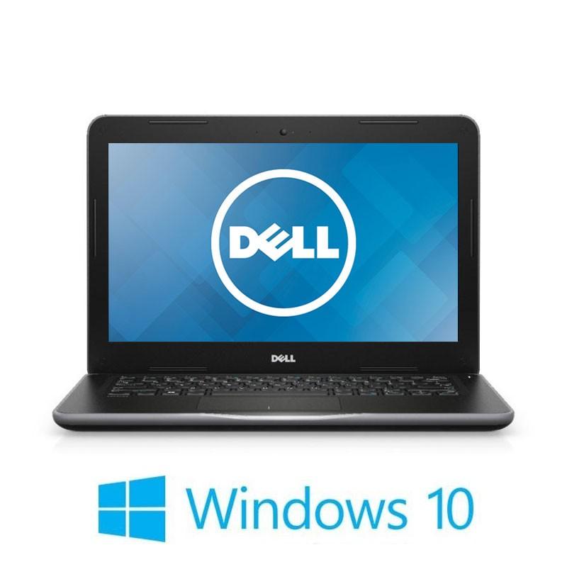 Laptopuri Dell Latitude 3380, Pentium 4415U, 128GB SSD, 13.3 inci, Webcam, Win 10 Home