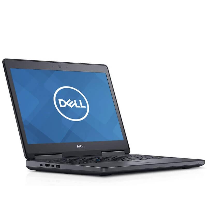 Laptopuri second hand Dell Precision 7510, i7-6820HQ, 512GB SSD, Grad A-, Quadro M1000M 2GB