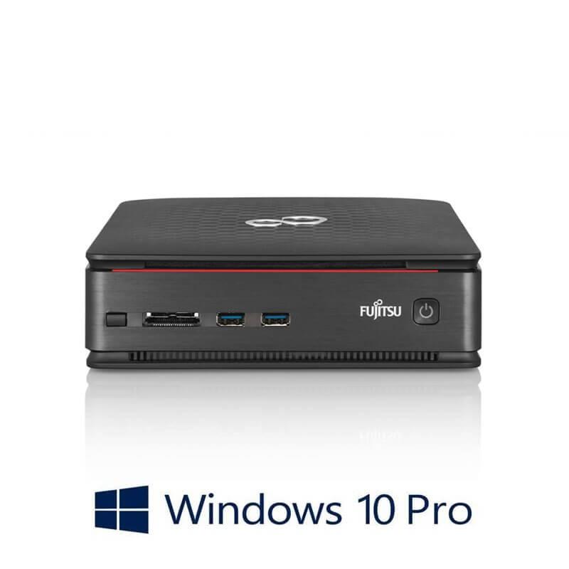 Mini Calculatoare Fujitsu ESPRIMO Q920, Quad Core i7-4785T, 8GB, 256GB SSD, Win 10 Pro