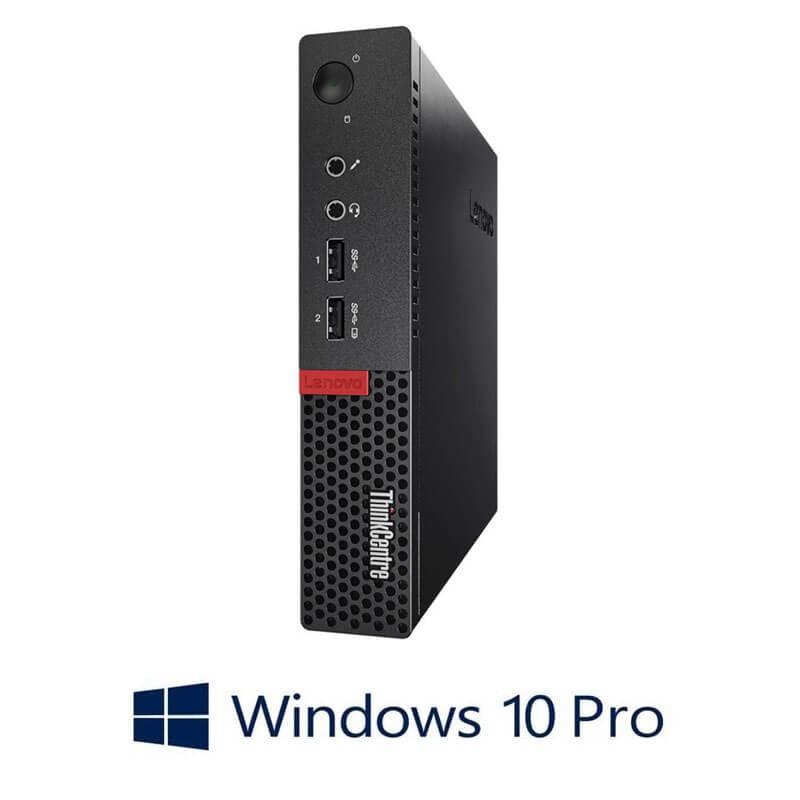 Mini Calculatoare Lenovo ThinkCentre M710q, i7-6700T, 256GB SSD, Win 10 Pro