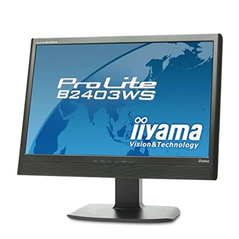 Monitor LCD Iiyama ProLite B2403WS, 24 inci WideScreen Full HD
