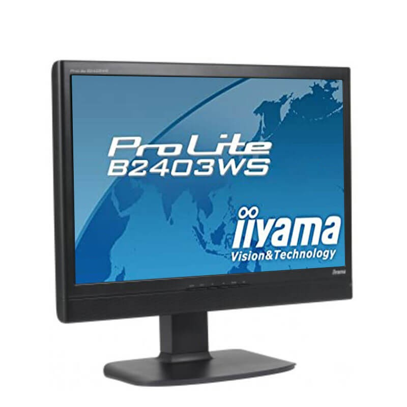Monitor LCD SH Iiyama ProLite B2403WS, Grad A-, 24 inci Full HD