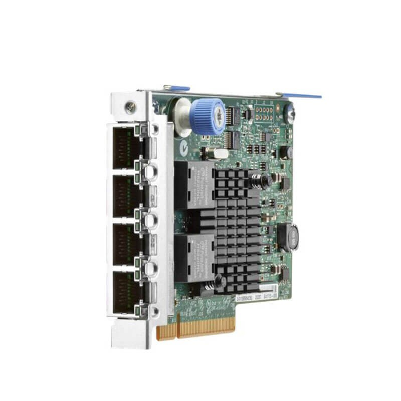 Placa de Retea Servere HP 669280-001 Quad Port 10/100/1000Mbps