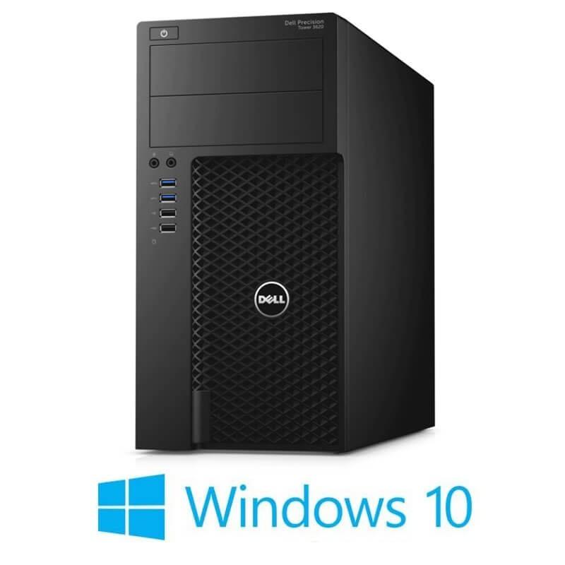 Statie grafica Dell Precision 3620 MT, Core i7-6700T, SSD, GeForce GT 240, Win 10 Home