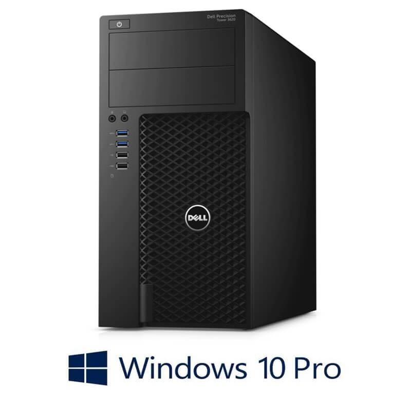 Statie grafica Dell Precision 3620 MT, Core i7-6700T, SSD, GeForce GT 240, Win 10 Pro