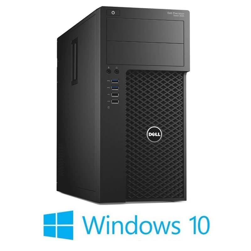 Statie grafica Dell Precision 3620 MT, E3-1220 v5, 32GB DDR4, GeForce GT 240, Win 10 Home
