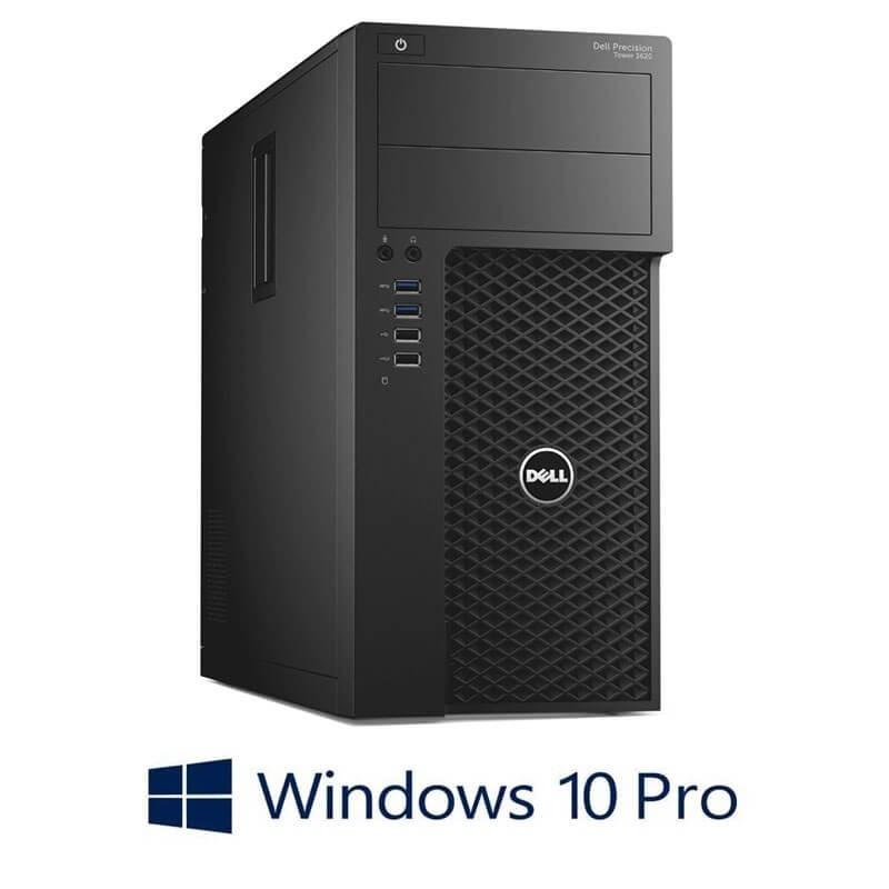 Statie grafica Dell Precision 3620 MT, E3-1220 v5, 32GB DDR4, GeForce GT 240, Win 10 Pro