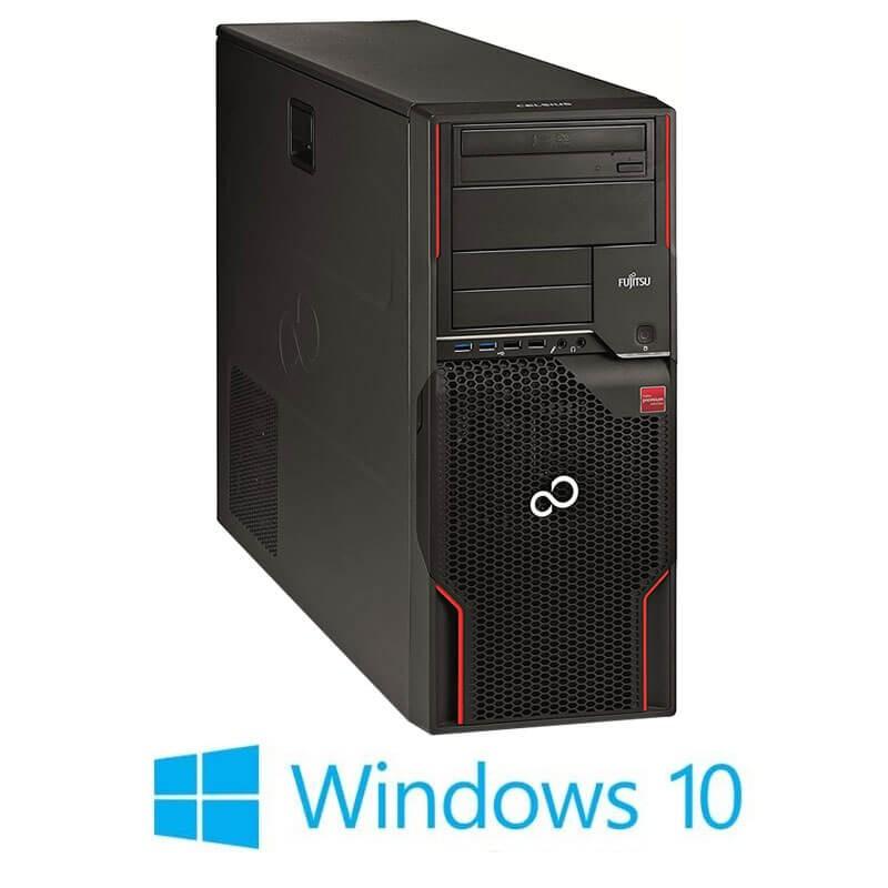 Statie grafica Fujitsu CELSIUS W520, Xeon E3-1230 v2, Quadro K2200 4GB, Win 10 Home