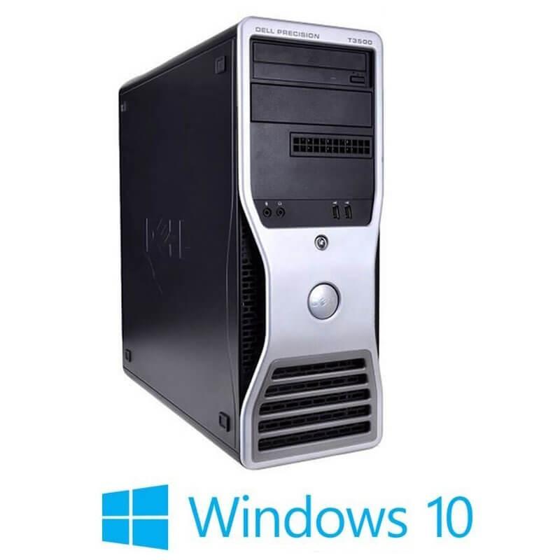 Statie grafica Dell Precision T3500, Xeon E5649, Quadro 2000, Win 10 Home