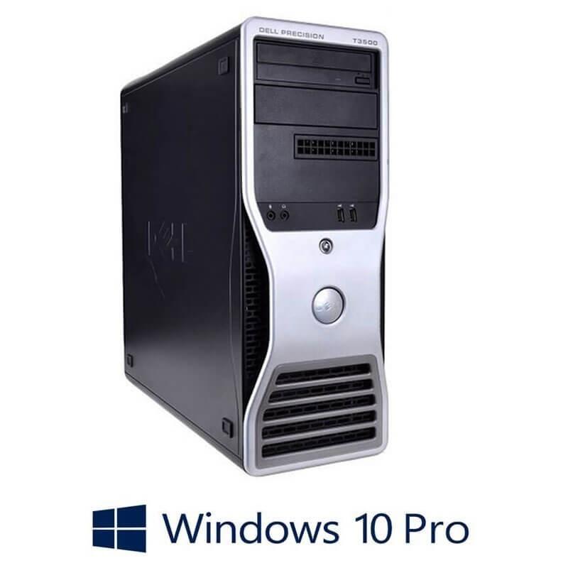 Statie grafica Dell Precision T3500, Xeon E5649, Quadro 2000, Win 10 Pro