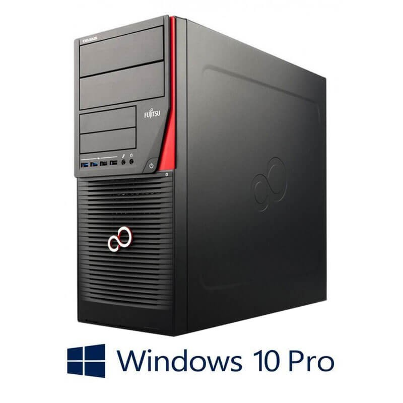 Statie grafica Fujitsu CELSIUS W530, i7-4790K, SSD, Quadro K4000, Win 10 Pro