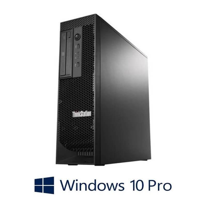 Statie grafica Lenovo ThinkStation C30, 2 x E5-2670, Quadro 2000, Win 10 Pro