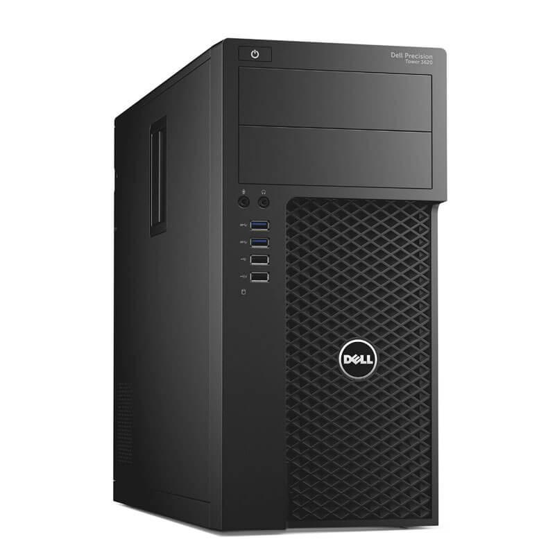 Statie grafica second hand Dell Precision 3620 MT, Xeon E3-1220 v5, 32GB DDR4, GeForce GT 240