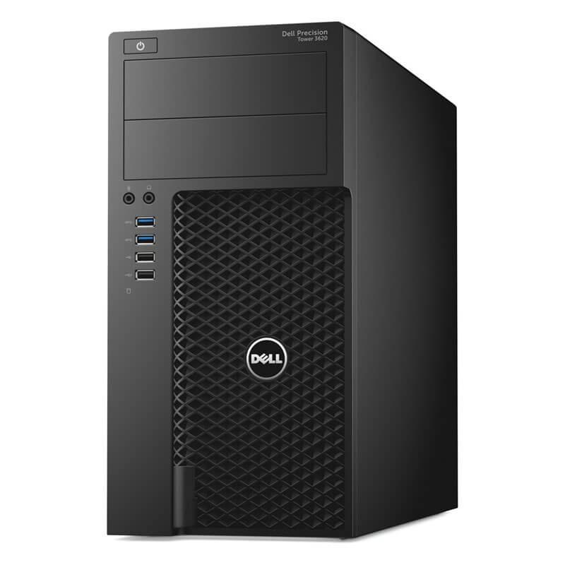 Statie grafica second hand Dell Precision T3620, Intel Quad Core i7-6700
