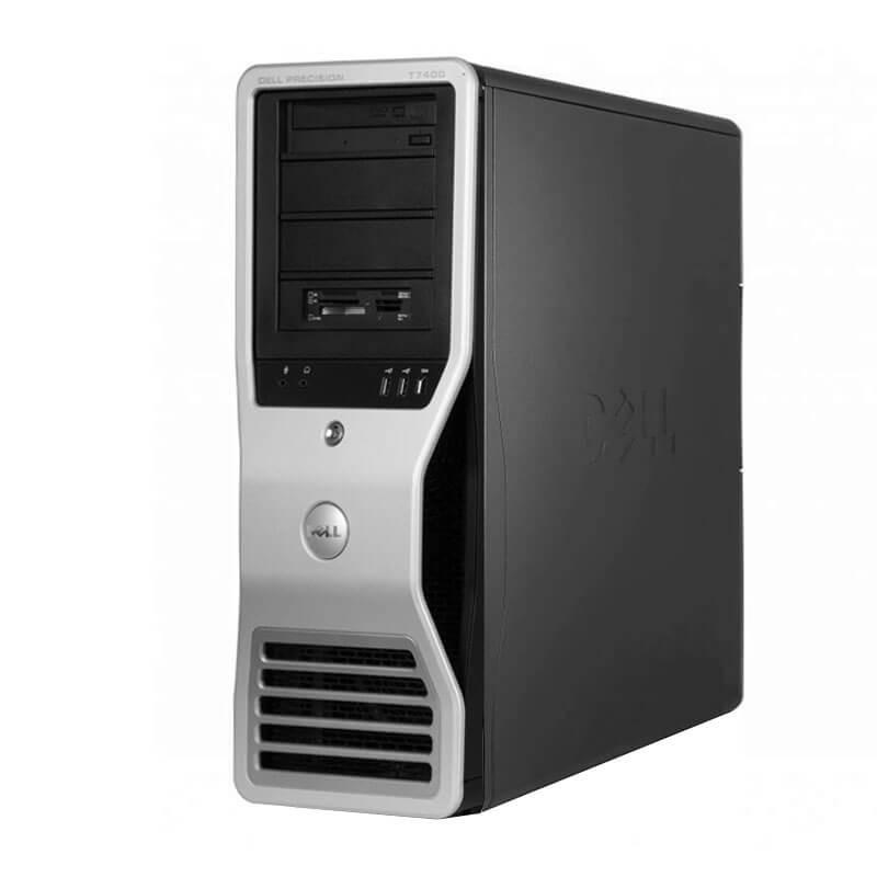 Statie grafica second hand Dell Precision T7400, Xeon Quad Core E5430, 16GB, Quadro FX 4600