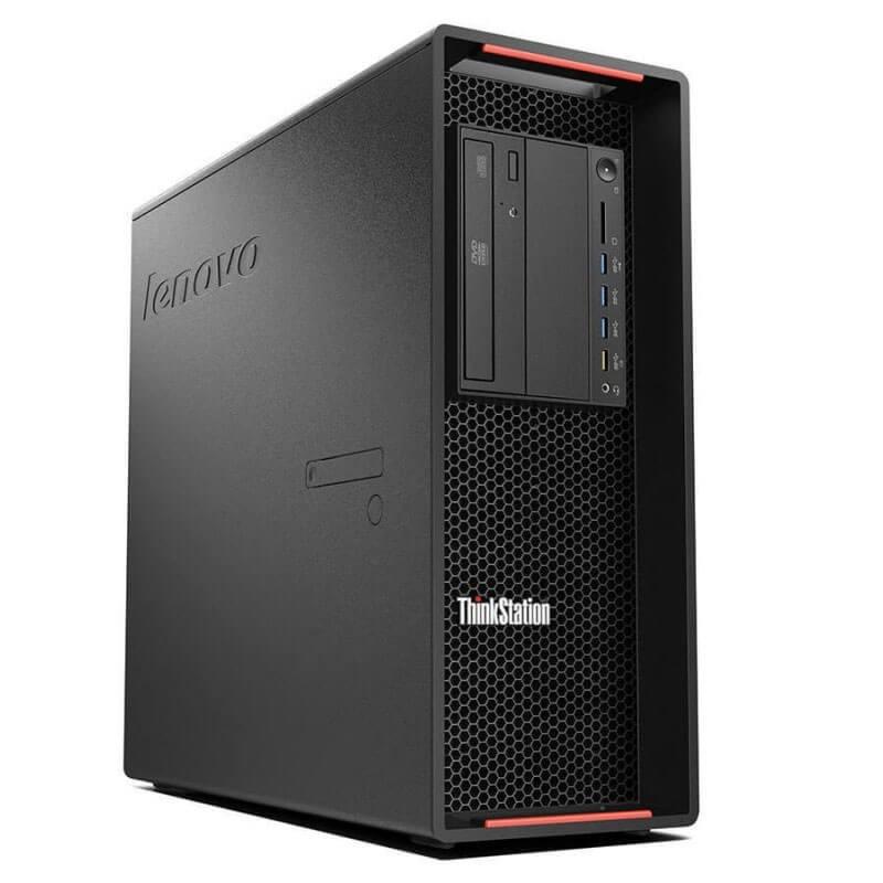 Statie grafica second hand Lenovo ThinkStation P500, E5-2680 v3 12-Core, 512GB SSD, Quadro M2000