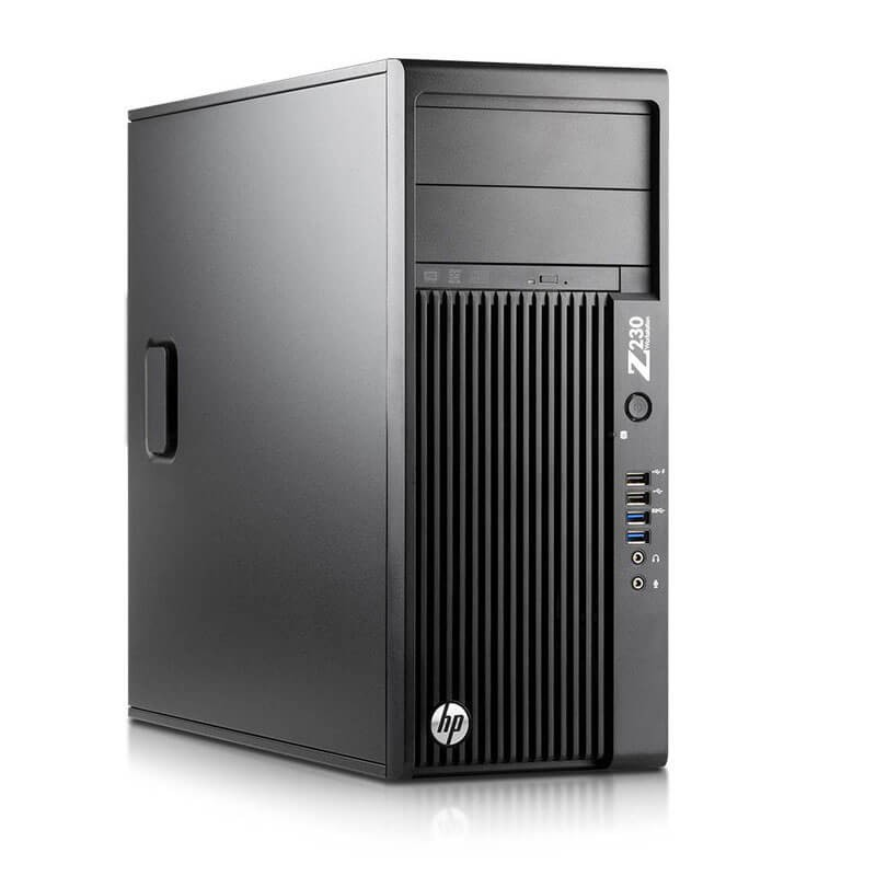 Statie grafica SH HP Z230 Tower, Xeon Quad Core E3-1225 v3